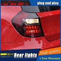 Автомобиль укладки аксессуаров для BMW E87 задние фонари светодиодные Фонарь 04 11 для E81 120 130 задние лампы ДРЛ + Тормозная + Park + Сигнальные огни led