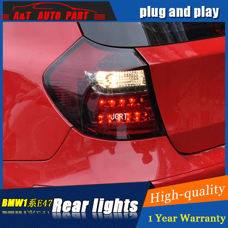 Car styling Accessories for BMW E87 rear Lights led TailLight 04-11 for E81 120 130 Rear Lamp DRL+Brake+Park+Signal lights led защитные аксессуары car pakistan bmw alpina