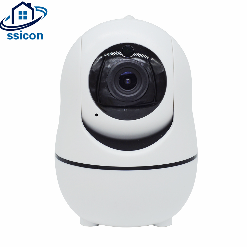 SSICON Full HD 720P Mini IP Camera Wireless Home Security PTZ Camera HD 720P Baby Monitor Two Ways Audio CCTV WiFi Camera
