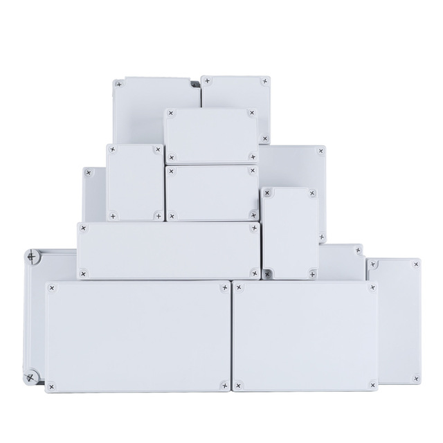 Big Size ABS Plastic IP67 Waterproof Junction Box DIY Outdoor Electrical Connection box Cable Branch box Housing 380*190*130