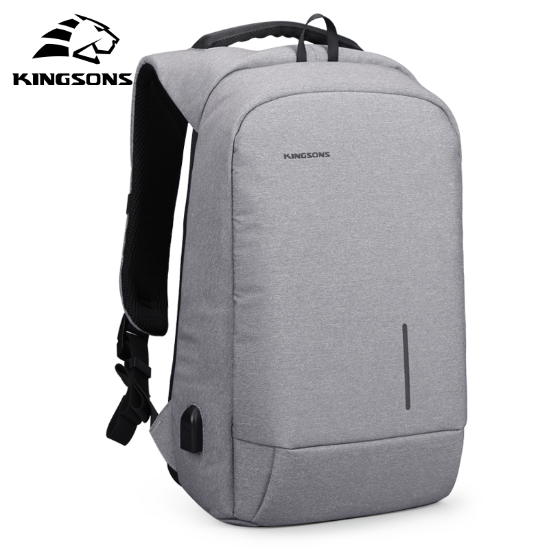 Kingsons 2018 Laptop Anti Theft Men Backpack Best Trave Bag Password Lock Backpack Male New Business Mochila Bagpack Pack Design все цены