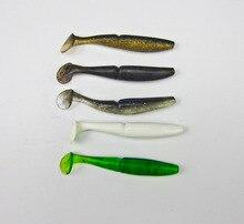 BassLegend – 8 Pcs Japan New Fishing Soft Bait For Bass Plastic Lure Swimbait Soft Shad 85mm/7.2g T Shape Tail