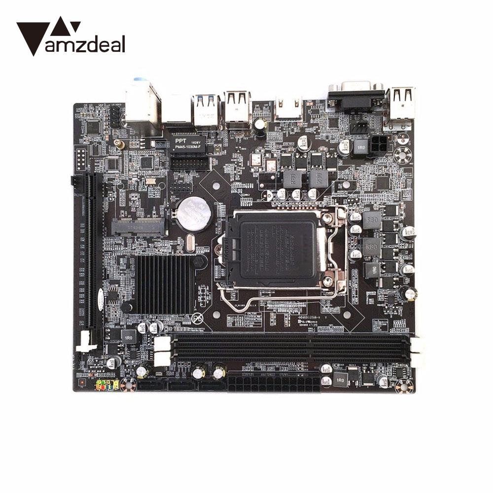 LGA1151 H110 Motherboard Mainboard Stystemboard Computer for Intel Skylake 6 Generation Core I7/I5/I3/ PC intel core i7 6700 skylake 3400mhz lga1151 l3 8192kb tray