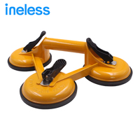 150kg 3 in 1 Suction Cup Big Size Single Hand Vacuum Suction Car Repair Dent Remover Sucker Aluminum Alloy Floor Tiles Glass Suc