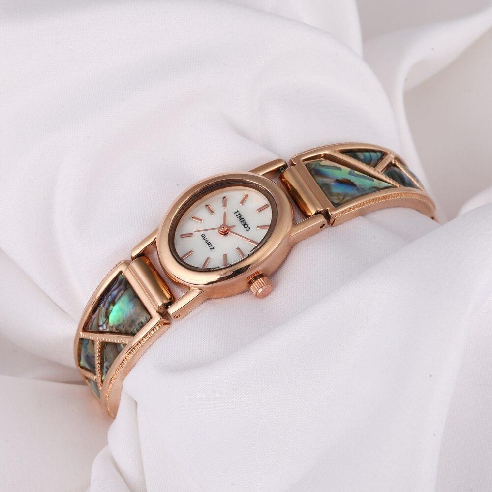 e3f363eded3 TIME100 Vintage Relógio Feminino de Bracelete Analógico de Quartzo Pulseira  de Strass Cinta de Liga Relógios de Pulso de Vestido para Mulheres relojes  de ...