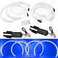 4 Pçs/set Azul CCFL LED Angel Eyes faróis para BMW X5 (E53) angel eyes kits # FD-3899