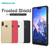 For Xiaomi Redmi 6 Pro Case NILLKIN Super Frosted Shield Matte Hard PC Back Mobile Phone Covers