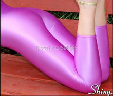 LG016 Unisex Lycra Spandex Tights Solid Color Opaque Zentai Legging Fetish Wear Customize Size