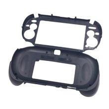 حافظة يد مطفأ اللمعة مزودة بمقبض وحامل مع زر مشغل L2 R2 لوحدة تحكم الألعاب PSV1000 PSV 1000 PS VITA 1000