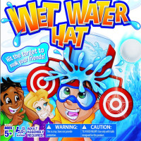 Wet water challenge cap wet water hat new exotic toy Dunk HAT table game water toy