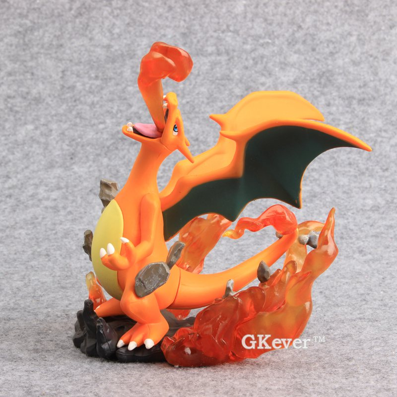 Japanese Cartoon  Figures Charizard PVC Action Figures Collectible Model Toy 6 15 CM with Retail Box avengers movie hulk pvc action figures collectible toy 1230cm retail box