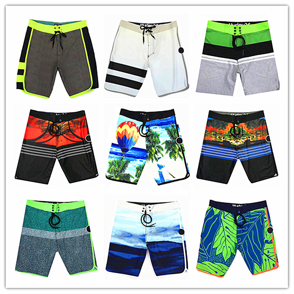 400 Colors 2019 Brand Fashion Phantom Men Beach   Board     Shorts   Swimwear Bermuda Masculina Adults Boardshorts Quick Dry Swimtrunks