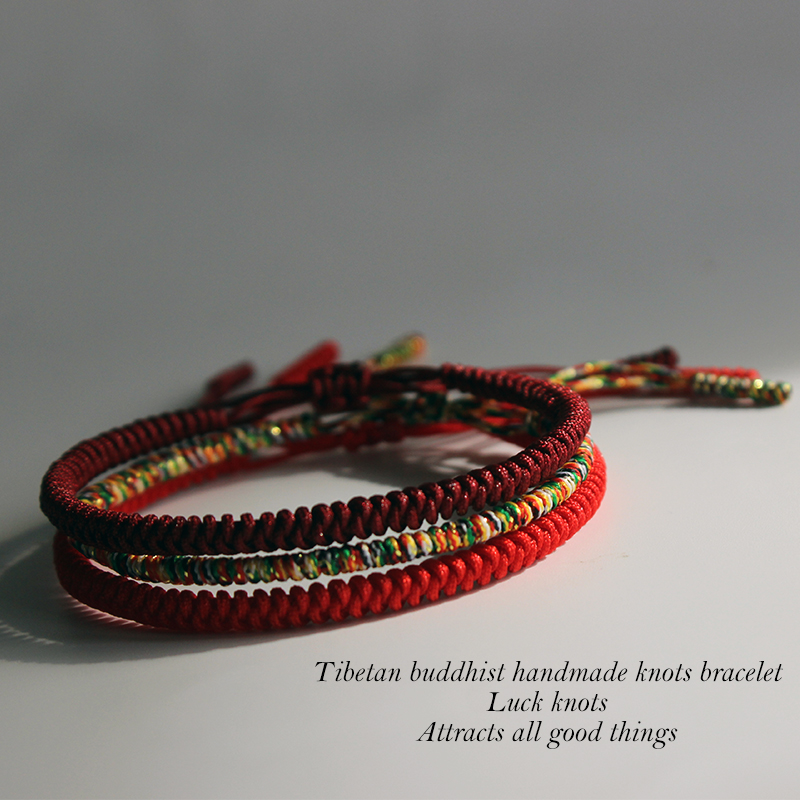 knots happiness handmade kundalini lucky rope products bracelet kundalinispirit spirit