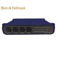 521015 8 в 8 out pro Dante передатчик/конвертер со встроенным DSP для сцены, домашнего кинотеатра и т. Д