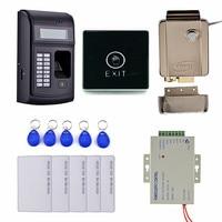 Key Card Touch Door Switch LCD Biometric PIN Code 125KHz RFID ID Card Reader Door Lock