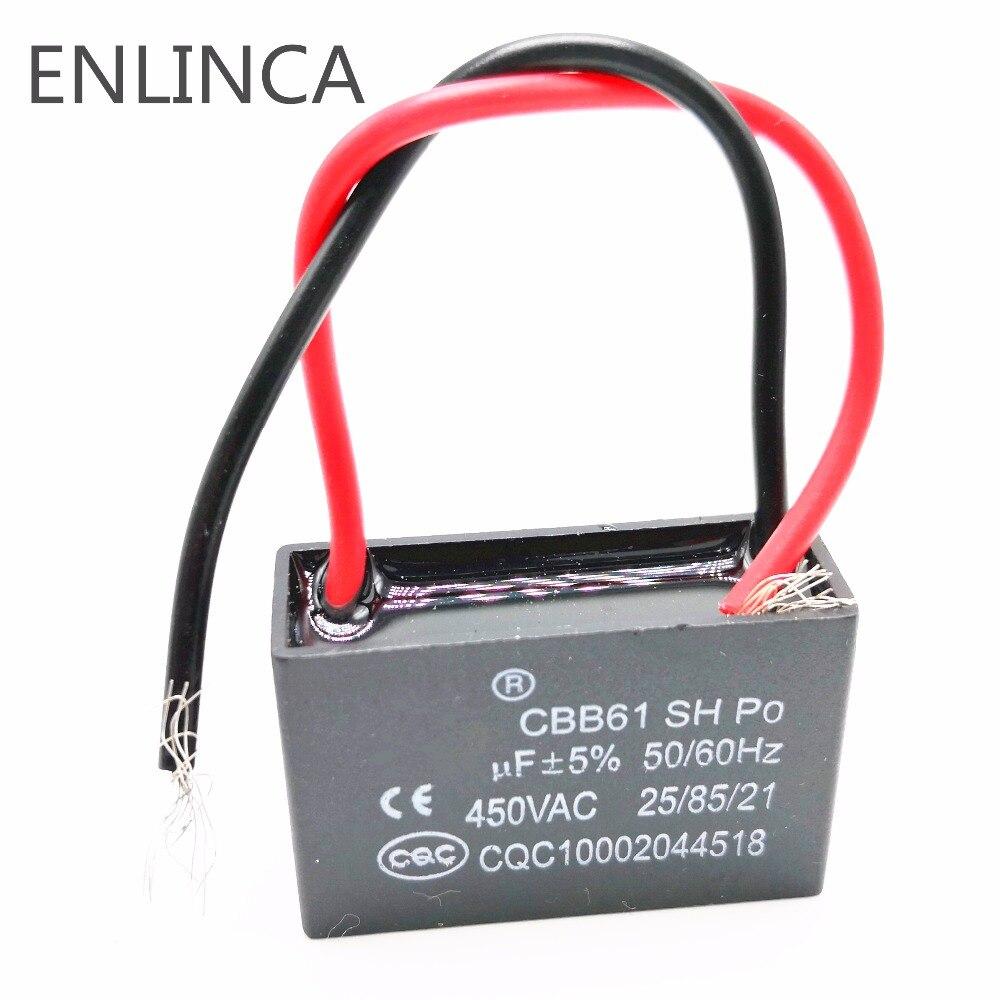 1 pièces départ capacité AC Ventilateur Condensateur CBB61 0.33 uf ~ 40 uf 450 V-630 V 25 uf 30 uf 40 uf 5%