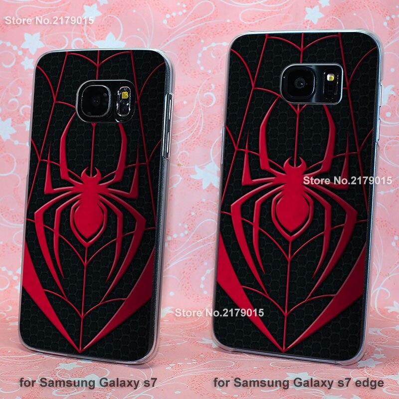 tumblr <font><b>spider</b></font> <font><b>man</b></font> red <font><b>logo</b></font> transparent clear hard Cover <font><b>Case</b></font> <font><b>for</b></font> <font><b>Samsung</b></font> <font><b>Galaxy</b></font> s3 s4 s5 mini s6 s7 edge