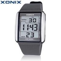 XONIX Mannen Sport Horloges Waterdicht 100 m Outdoor Fun Multifunctionele Digitale Horloge Zwemmen Running LED Horloge Montre Homme