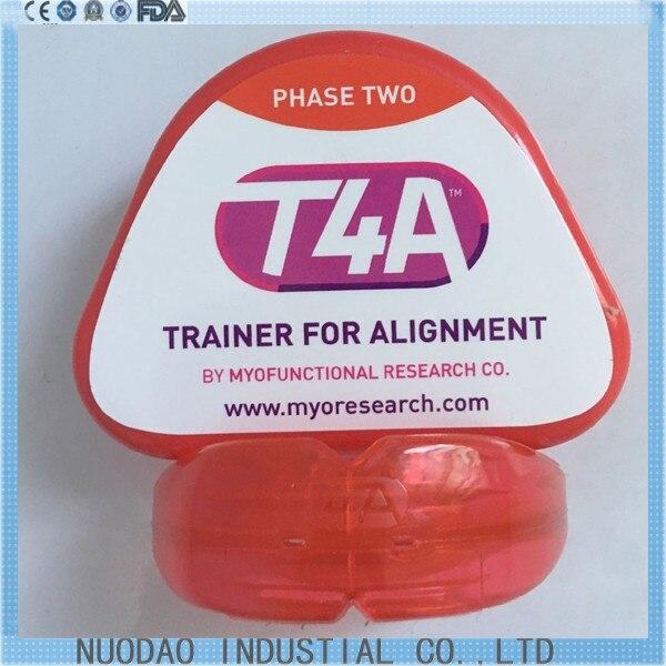 Good quality Original T4A red hard phase II Dental Orthodontic Appliances Myofunctional