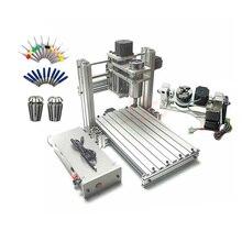 3 4 5 axis aluminium mini cnc router machine voor hout reliëf embossment pcb pvc DIY frezen boren graveren bal schroef USB