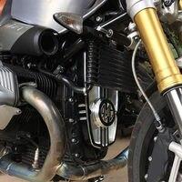 Мотоцикл с ЧПУ Защита двигателя крышка рамка нагрудная пластина Защита для 2013 2017 BMW R NINE T R9T 2014 2015 2016 скремблер
