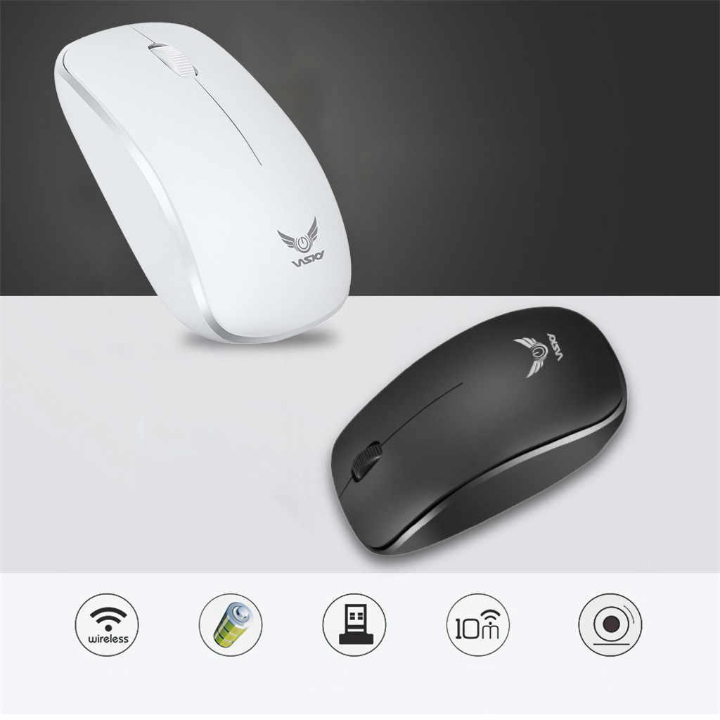 ワイヤレスマウスの Usb レシーバー光学センサー Pc のラップトップ錠コンピュータマウス 2.4 グラムレシーバーマウスコンピュータラップトップ 515 #