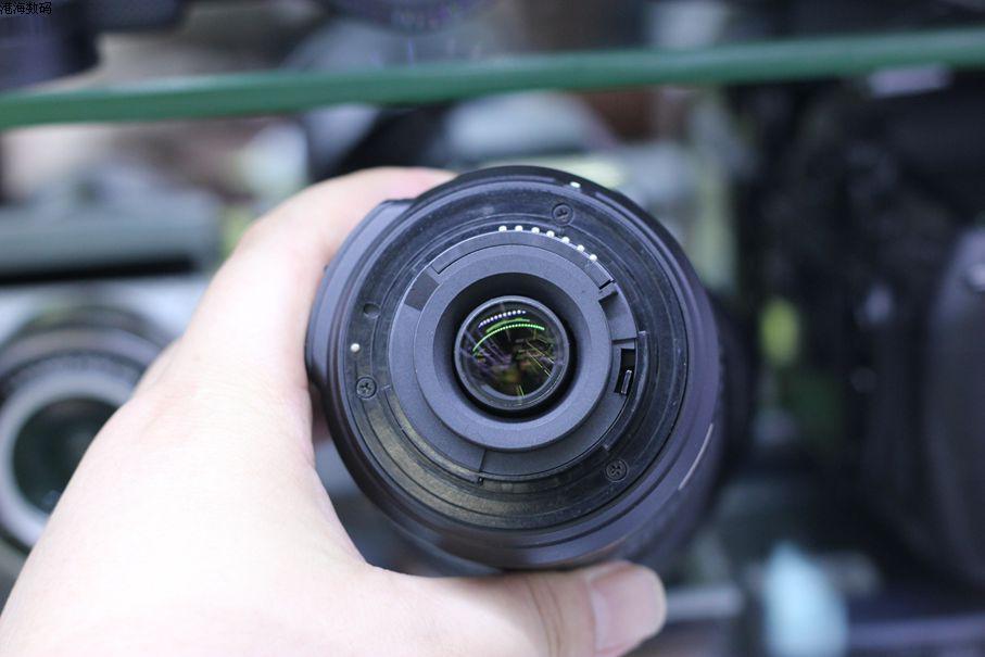 VERWENDET Nikon 55 200mm f/4 5,6G ED WENN AF S DX VR Nikkor Zoom Objektiv [Vibration Reduktion] - 2