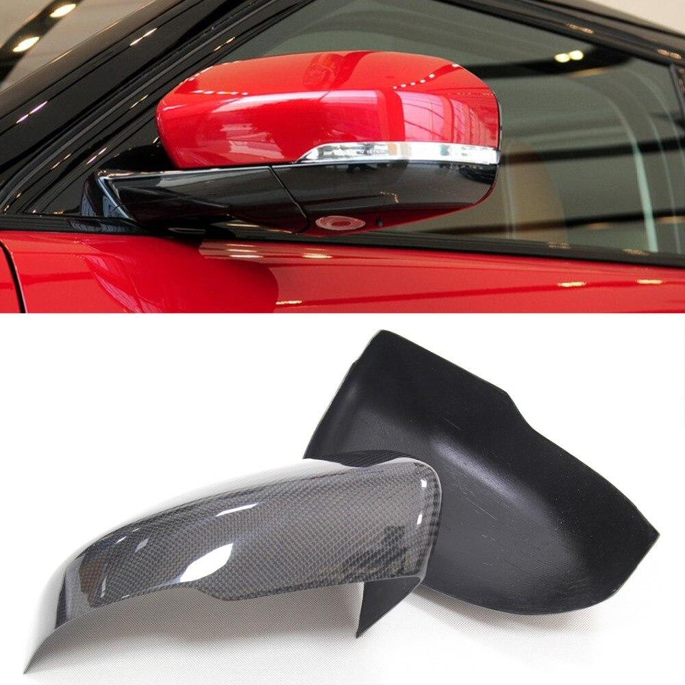 Добавить на стиль и стиль замены для Ленд Ровер рендж Ровер Evoque углерода кепки 2012 г. - углерода боковой вид волокна зеркало Крышка