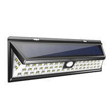 54 LEDs Solar Sensor Waterproof PIR Human Body Induction Motion Sensor Dimmable