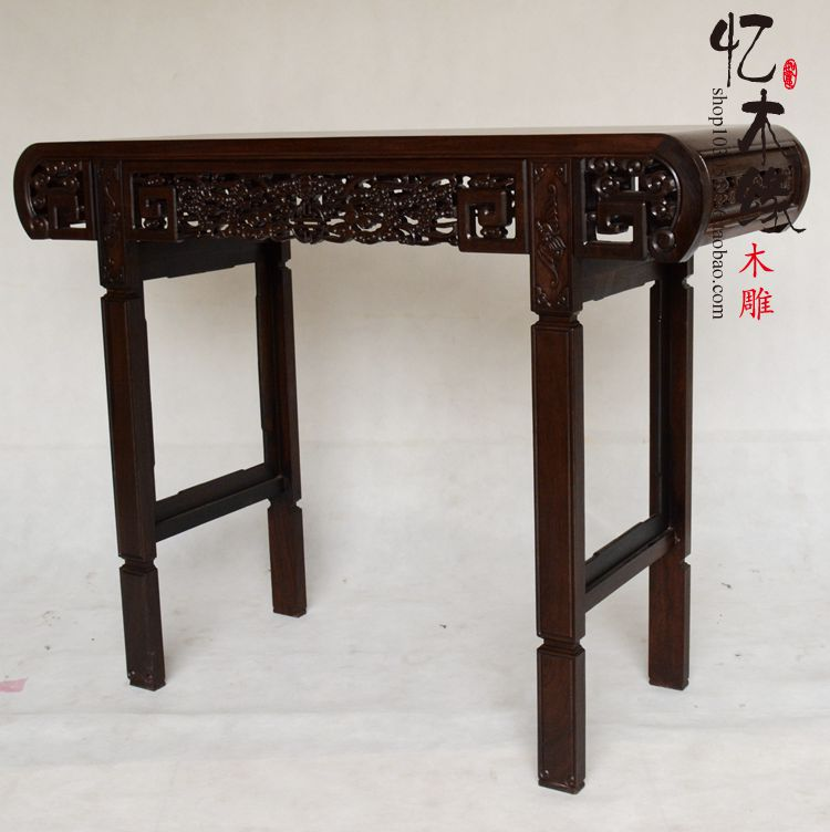 Ebony Buddha Buddha Altar Altar Table Taiwan Mahogany Wood Simple Entrance  Porch Ark Antique Table In Brackets From Home Improvement On Aliexpress.com  ...