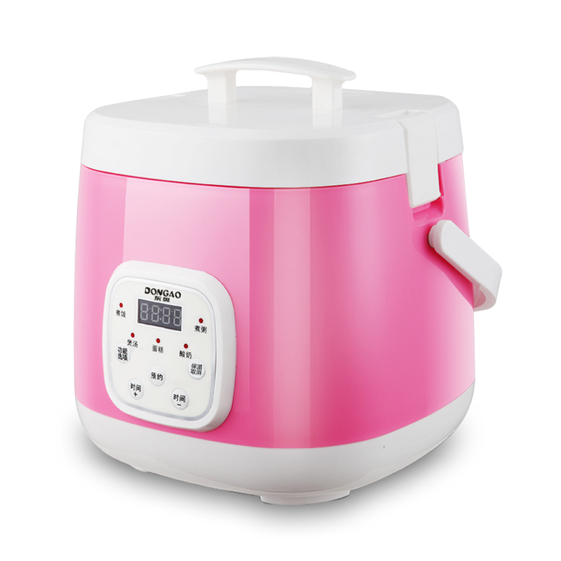 Rice Cooker Mini Rice Cooker JD-2040B Intelligent Booking Time 1-2-3 People 2L Multi-purpose Small Rice Cooker