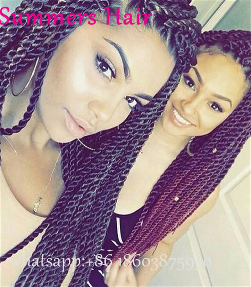 Janet Collection Crochet Hair Nubian Twist Hair Extension