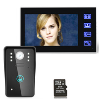 MAOTEWANG 7 Recording DVR Video Door Phone Intercom Doorbell With 8G TF Card Touch Button Remote Unlock Night Vision