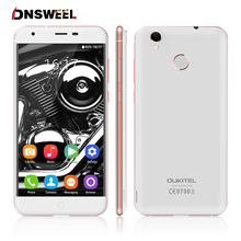 Original oukitel k7000 4g handy mt6737 quad core 0,2 s fingerprint id smartphone 2g + 16g 8.0mp android 6.0 gps handy