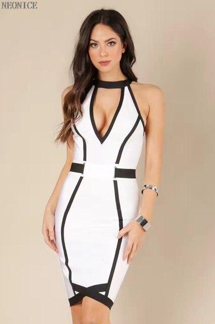 strakke stretch jurk
