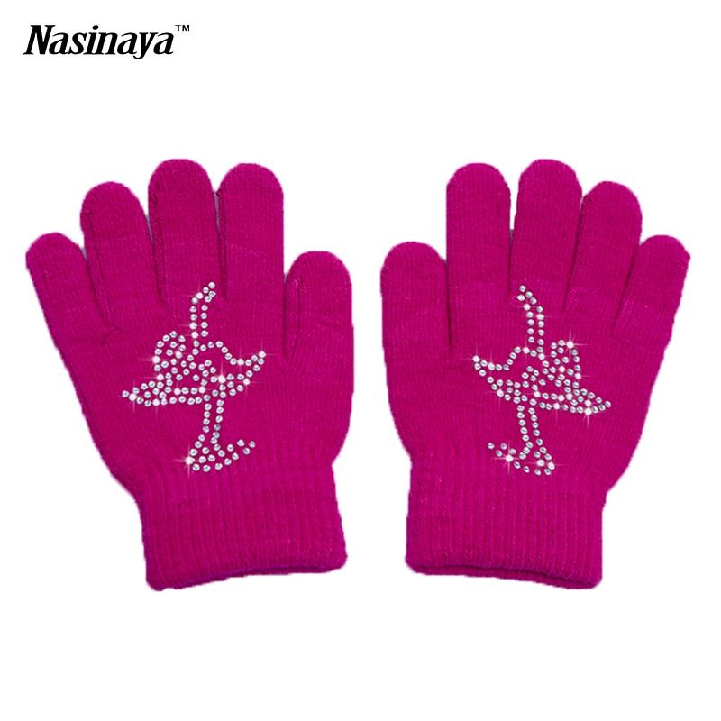 10 Colors Solid Magic Wrist font b Gloves b font Figure Skating Ice Training font b