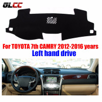 Auto Car Dashboard Cover For Toyota Camry 2012 2016 Years Left Hand Steering Dashboard Protector