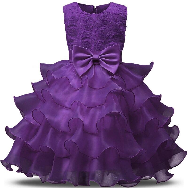 AI Meng bebé vestido de verano 3-8 años bebé floral Niñas vestidos 6 ...