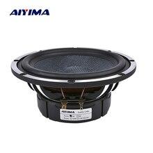 AIYIMA 6,5 дюймов Автомобильный звуковой сигнал СЧ-динамики 4 8 Ом 80 Вт НЧ-динамик домашний кинотеатр алюминиевая рама для раковины громкоговоритель