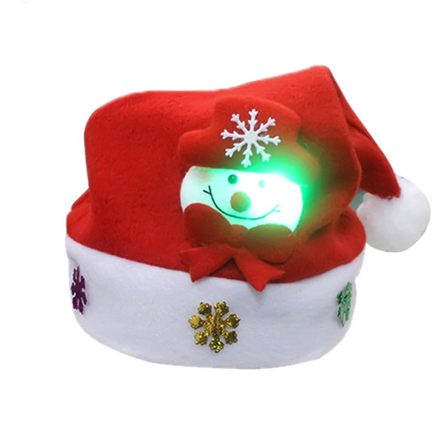 verlichte kind kerstmuts sneeuwpop rendier hoeden nieuwe jaar decoratie voor kerst kerststal fancy dress