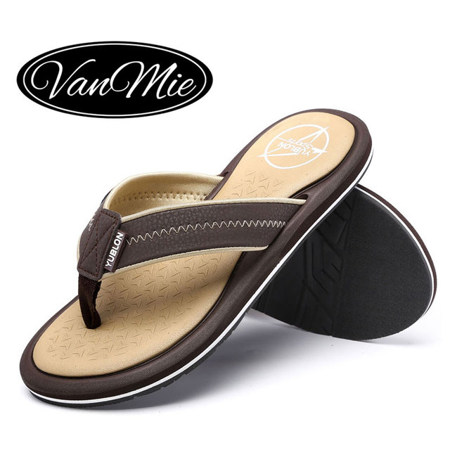 Summer Sandals - Fashion Mens Flip-Flops Sandals Casual Beach Slippers Flat Shoes
