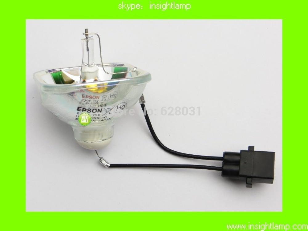 bilder für 10 Teile/los Ursprüngliche bloße Lampe ELPLP67/V13H010L67 für EB-X02 EB-S02 EB-W02 EB-W12 EB-X12 EB-S12 EB-X11 EB-X14 EB-W16 EX3210 EX5210