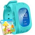 Smart watch kids q50 lcd anti perder gps rastreador smartwatch para niño de emergencia sos bluetooth para iphone android samsung teléfono reloj