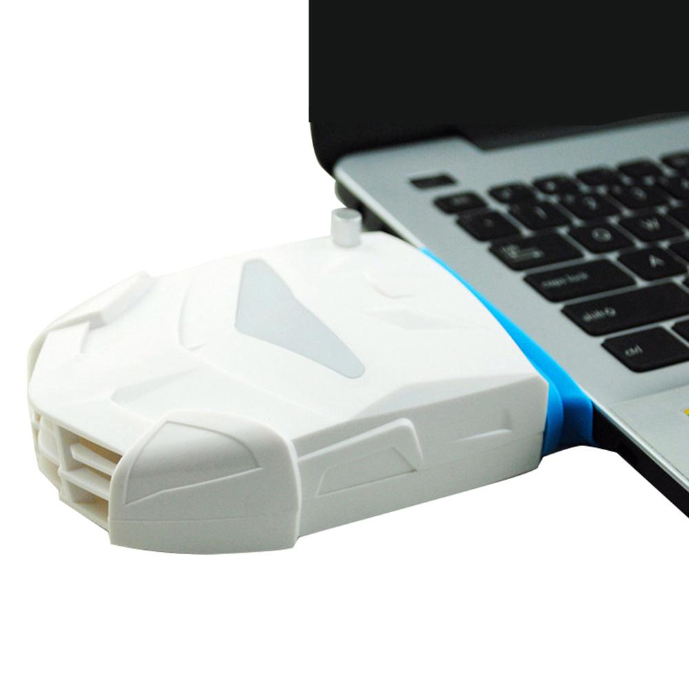 Mini USB Notebook Laptop Cooler Computer Extracting Cooled Single Vacuum Fan Hot