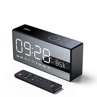 X9 Wireless Bluetooth Speaker Heavy Bass Speakers Music Player support LED Time Display Clock Alarm TF FM Radio Temperature