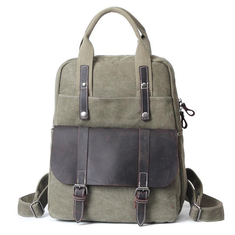 Fashional Men's Canvas Backpack Travel Schoolbag Male Backpack Of Large Capacity Men Rucksack School Bag Laptop Backpacks H021 large capacity backpack laptop luggage travel school bags unisex men women canvas backpacks high quality casual rucksack purse