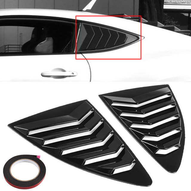 Rear Window Louver Side Vent For Subaru BRZ For Toyota 86 Scion FRS ...