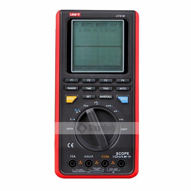 UNI-T UT81B Handheld LCD Digital Scopemeter Oscilloscope Multimeter