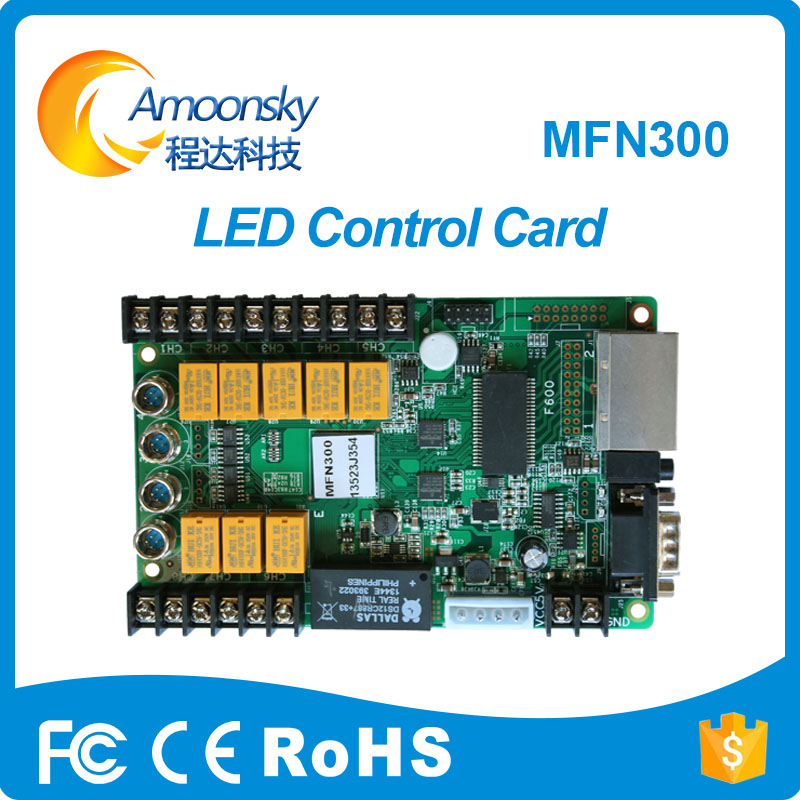 Novastar multi-function card MFN300 nova control system for outdoor led billboard as novastar NS048C MFN300 matching MSD300 цена