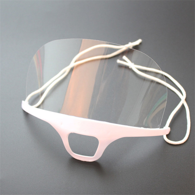 Health Care 10pcs Transparent Catering Mask Anti Fog